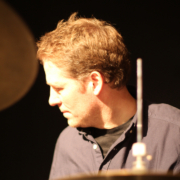 Carsten Lindholm, drummer, photo: Tom Harris